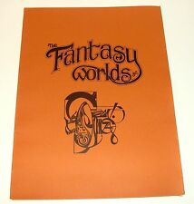 1975 THE FANTASY WORLDS OF ALEX NINO - SIGNED NUMBERED PORTFOLIO W/ 8 PLATES