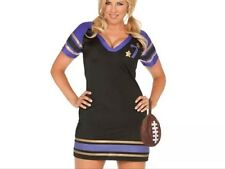 Football LINGERIE Plus Size 1X 14/16/18/20  3pc set Costume SEXY RolePlay EM9277