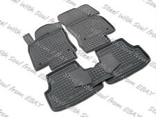 Fully Tailored Rubber / Car Floor Mats Carpet for SEAT LEON (5 doors) 2012—2017