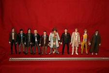 BBC DOCTOR WHO X 10 DOCTORS ACTION FIGURES CB12413