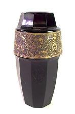 Vase mit  Goldfriesdekor - Moser Karlsbad - signiert