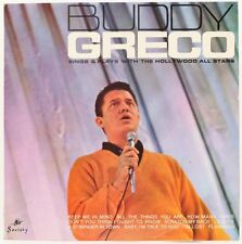 Buddy Greco Sings And Plays  Buddy Greco With The Hollywood All Stars Vinyl Reco