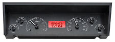 Dakota Digital 77 - 90 Chevy Impala Caprice Analog Gauges Black Red VHX-77C-CAP
