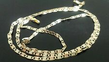 14k tri color gold necklace chain,2mm