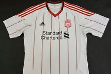 The Reds 2010-11 adidas Liverpool FC Away Shirt SIZE L (adults)