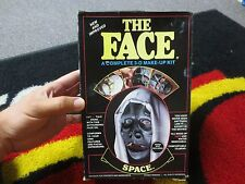 Vintage 1985 Imagineering The Face Makeup Kit Space with Box Halloween - Koper