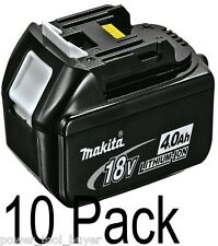 10pk Genuine Makita BL1840 Battery Pack 18V LXT Lithium-Ion 4.0 Ah BL1840-10