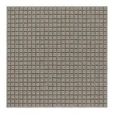CERAMICA DI TREVISO mosaico da rivestimento 1x1 miscela GRIGIO LUNA(fogli 30x30)