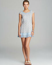 4 - FRENCH CONNECTION 'Desert Tropicana' Floral Georgette Dress - Ice Clear $158