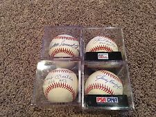 Mickey Mantle Joe Dimaggio Ted Williams Koufax High Grade Signed Baseball PSA