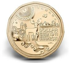 2011 Parks Canada $1 Dollar Loonie UNC From Mint Roll