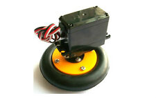 Smart Car Robot Plastic Tire Wheel Tyre + 360 degree Servo DIY