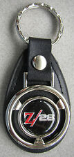 Z28 CAMARO Vintage Chevy Mini Steering Wheel Leather Keyring 1979 1980 1981 1982