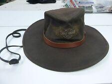 vintage outback / Harley Davidson felt hat