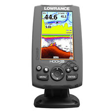LOWRANCE HOOK-4X FISHFINDER WITH 83/200 TM DUCER