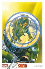 2015 SDCC Exclusive Marvel Litho - NICK FURY / SHIELD SIGNED by ALEX ROSS