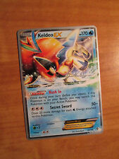 WC-2015 Pokemon KELDEO EX Card BOUNDARIES CROSSED Set 49/149 World Championship