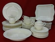 WEDGWOOD china EDME pattern 63-pc SET SERVICE for 12
