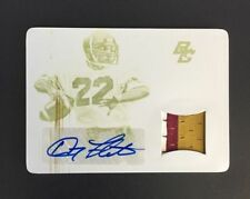 Doug Flutie 2015 National Treasures Auto/Patch/Plate #1/1 Boston College FREE SH