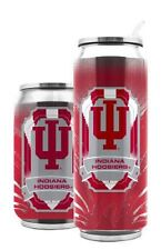 Indiana Hoosiers Stainless Steel Thermo Can - 16.9oz [NEW] Tumbler Coffee