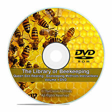 The Master Library of Beekeeping Rearing Queen Bees-Classic Bee Care Methods V57