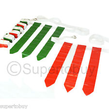 Flag Football Set - 12 Belts + 36 Flags (18 Green Flags & 18 Red Flags)