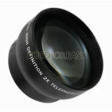 58mm 2.0X Telephoto Lens for Canon Rebel XS XSi XT XTi