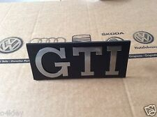 VW GOLF MK1 GTI GENUINE GRILLE BADGE, CABRIO GTI NOS GENUINE VAG PART EXCELLENT