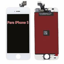 LCD y Pantalla Táctil Display Para iPhone 5 Reparación Frontal Blanco Completa