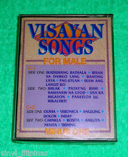 PHILIPPINES:VISAYAN SONGS FOR MALE MINUS ONE TAPE,Cassette,RARE,OPM,VISAYAN