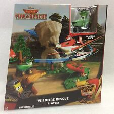 Disney Planes: Fire & Rescue Wildfire Rescue Playset - Tractor Buck
