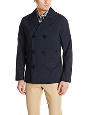 Nautica Mens Modern Pea Coat True Navy Small