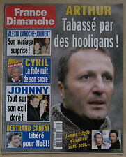 FRANCE DIMANCHE N° 3148 ARTHUR HALLYDAY BERTRAND CANTAT JAMES BROWN DAX DIANA