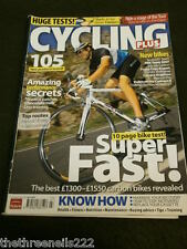 CYCLING PLUS - BEST CARBON BIKES - JULY 2007