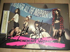 MusicCD4U CD DVD Miss A Autographed Kpop Independent Women Pt III Signed Taiwan
