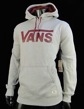 Vans Classic Logo skateboard Gray Mens Pullover Hoodie size Xlarge