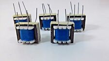 5 Pcs Great Input Transformer Coil  4 Pins/Legs Circuit Soldering  EI-16
