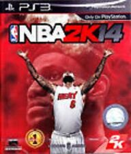 NBA 2K14 14 2014 COMPLETE (Sony Playstation 3) PS PS3 **FREE SHIPPING!!