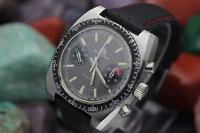 Vintage BUCHERER Diver Chronograph Valjoux 7733 Stainless Steel 20 ATM Watch