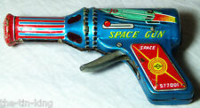 "RARE VINTAGE ""DAIYA SPACE 577001 GUN"" SPARKING TOY JAPAN C1960S FRICTION"