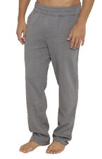 "BRAND NEW + TAG BILLABONG MENS (L) ""TEAM"" FLEECE TRACK PANTS SMOKE GREY MARLE"