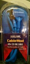 "Mad Dog CableMod ATA-133 IDE Cable Dual Rounded Blue 36"" MD-36-ATA-3BU"