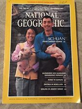 National Geographic September 1985 Sichuan