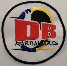 Martial Arts Embroidered Sew On Uniform Patch Db