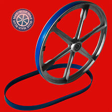 "3 BLUE MAX ULTRA BAND SAW TIRES 6"" X 1"" FOR VINTAGE DUNLAP 3 WHEEL BAND SAW"