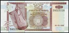 Burundi 50 Francs 2005 Pick 36e (1)