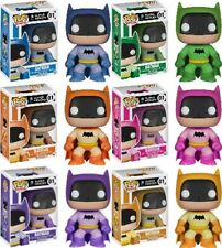Batman 75th Anniversary Rainbow Pop Vinyl Set of 6 - New in Box - EE Exclusive