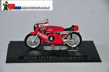 MOTO COLLEZIONE GP24 - DERBI 125TWIN ANGEL NIETO ANNO 1971