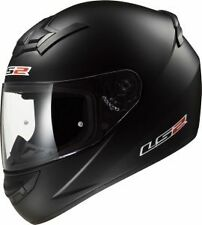 LS2 Helmets -FF352 Solid Matt Black - Full Face Imported Motorcycle Helmet