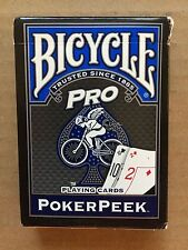 New Original Bicycle Pro 'Poker Peek Face' Playing Cards
